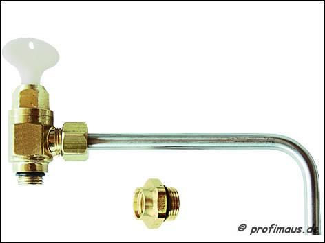 Probenahmeventil gemäß neuer Trinkwasserverordnung (TrinkwV) und DVGW-Arbeitsblatt W551